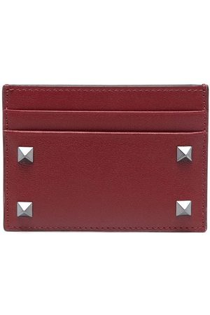 VALENTINO GARAVANI Rockstud-embellished cardholder
