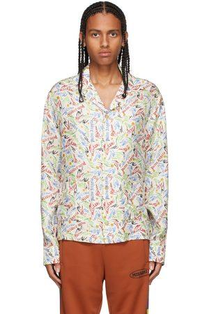 Palm Angels Men Shirts - Off-White Missoni Edition Scribble Shirt