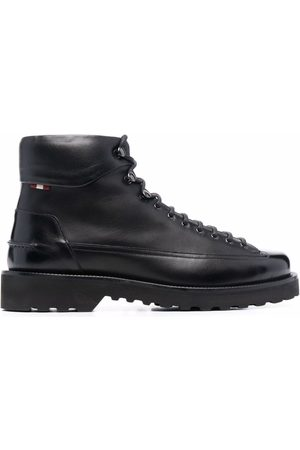 Bally Men Lace-up Boots - Lace-up leather boots