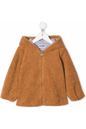 Moschino Teddy Bear textured jacket
