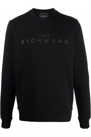 John Richmond Logo-print crew neck sweatshirt