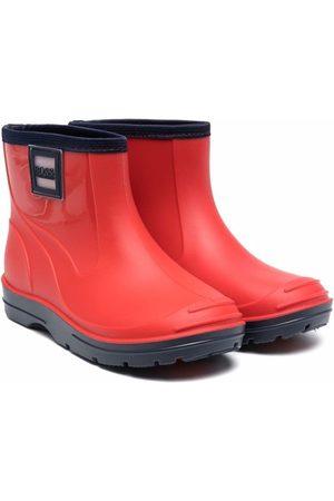 HUGO BOSS Boys Rain Boots - Logo-patch wellies