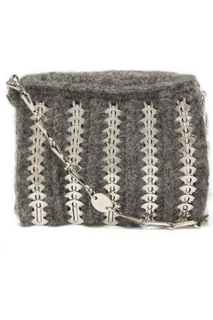 Paco rabanne Women Purses - 1969 Small Alpaca-blend Chainmail Shoulder Bag - Womens - Grey Multi