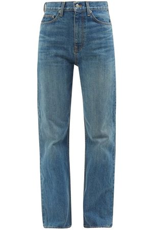 BROCK COLLECTION Quark High-rise Straight-leg Jeans - Womens - Denim