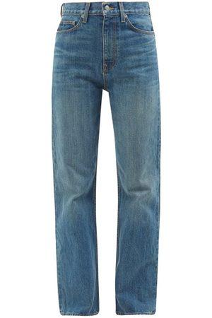 BROCK COLLECTION Women High Waisted - Quark High-rise Straight-leg Jeans - Womens - Denim