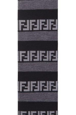 Fendi Men Scarves - Pequin-stripe scarf