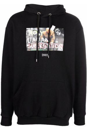 Throwback. Men Hoodies - Tony graphic-print hoodie