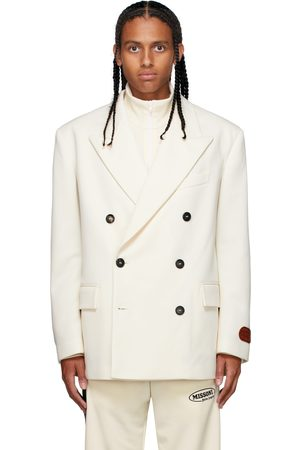 Palm Angels Men Blazers - Off-White MIssoni Edition Double-Breasted Blazer