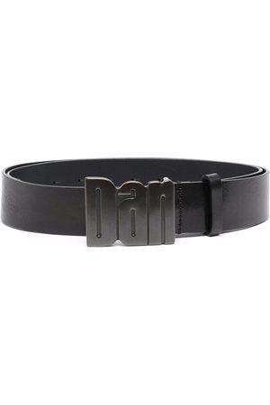 Dsquared2 Dan-plaque leather belt