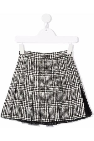 ERMANNO SCERVINO JUNIOR Check print mini skirt