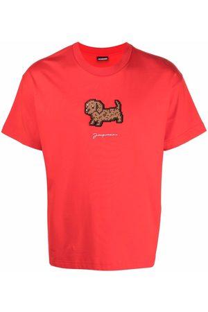 Jacquemus Le t-shirt Pistoun cotton top