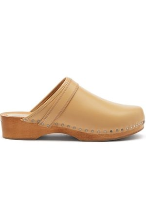 Isabel Marant Women Clogs - Thalie Leather Clogs - Womens