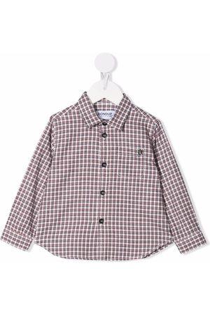 Dondup Shirts - Check button-down shirt