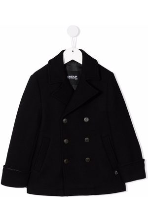 DONDUP KIDS Boys Coats - Double-breasted knitted coat