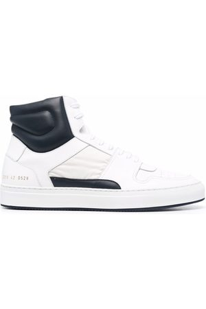 COMMON PROJECTS Men Sneakers - High-top leather-panelled sneakers