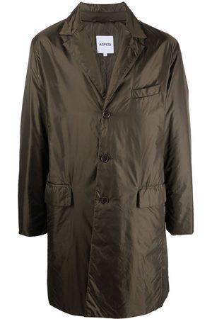 Aspesi Single-breasted shell coat