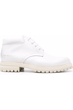 COMMON PROJECTS Men Ankle Boots - Leather lace-up ankle boots