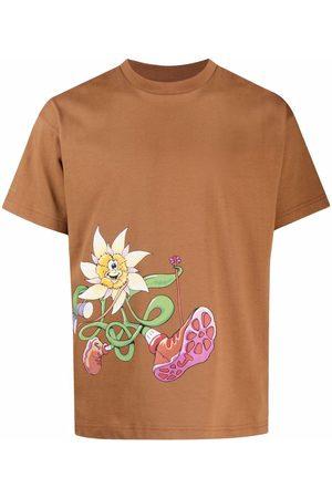 Jacquemus Men Short Sleeve - Graphic-print short-sleeve T-shirt