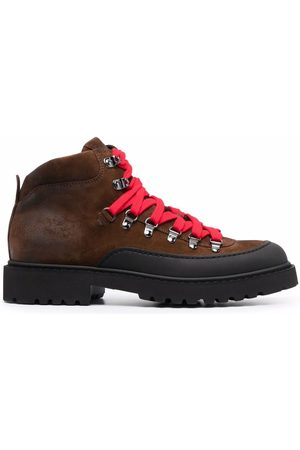 Doucal's Chunky lace-up leather boots
