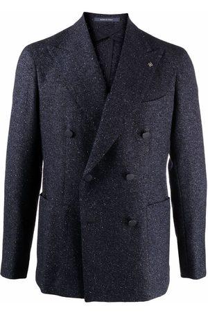 TAGLIATORE Double-breasted button blazer