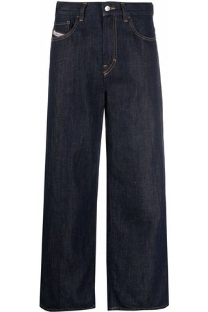 Diesel High-waisted wide-leg jeans