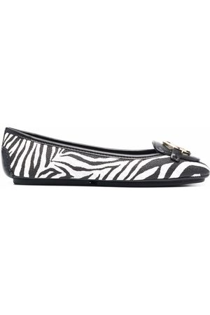 Michael Kors Zebra-print ballerina shoes