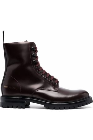 COMMON PROJECTS Men Lace-up Boots - Lace-up leather boots
