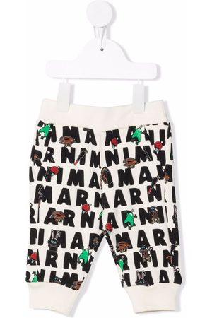 Marni Graphic-print track trousers