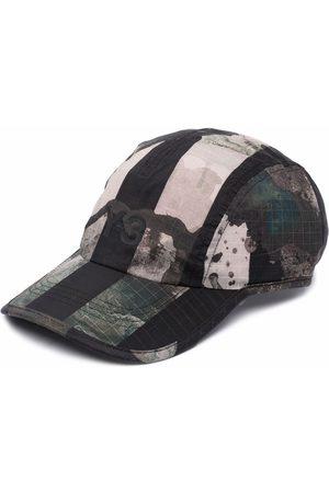 Y-3 Men Caps - Abstract-print baseball cap