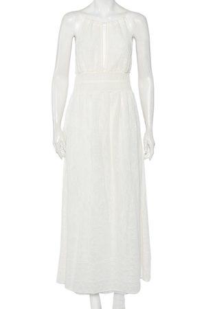 M Missoni Lace Knit Halter Neck Sleeveless Grecian Maxi Dress M