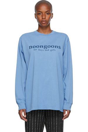 NOON GOONS Women Long Sleeve - Blue Print Long Sleeve T-Shirt
