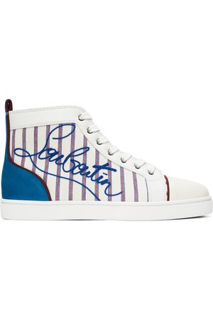 Christian Louboutin Multicolor Louis High Sneakers