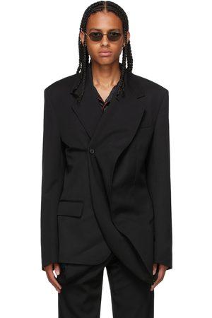 Y / PROJECT Men Blazers - Twisted Lapel Blazer