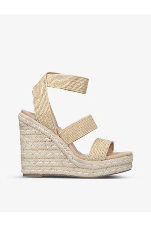 Steve Madden Shimmy woven wedge sandals