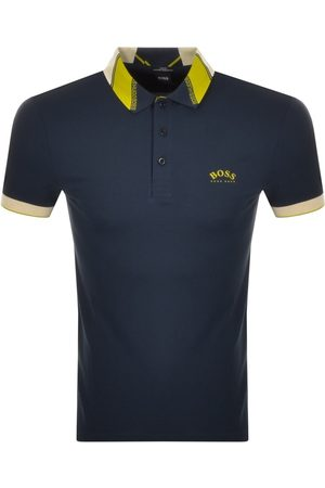HUGO BOSS Men Polo Shirts - BOSS Paule Polo T Shirt Navy