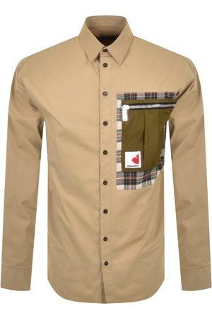 Dsquared2 Men Jackets - Patch Drop Overshirt
