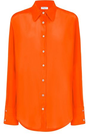SERENA BUTE The Oversized Shirt - Jaffa Orange