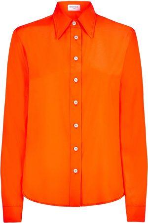 SERENA BUTE The New Serena Shirt - Jaffa Orange