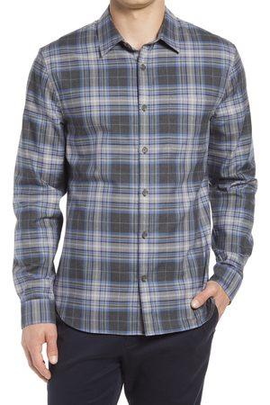 Vince Men's Beach Plaid Button-Up Shirt