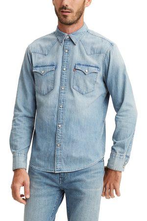 Levi's Men's Barstow Standard Fit Denim Western Shirt