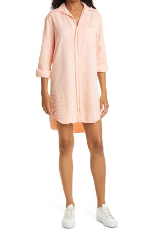 FRANK & EILEEN Women's Mary Front Button Cotton Shirtdress