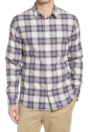 Vince Men's Tartan Plaid Button-Up Shirt