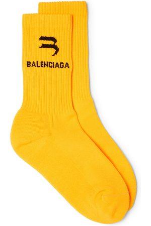 Balenciaga Men's Logo Socks