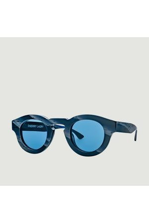 THIERRY LASRY Rumbly Sunglasses Navy