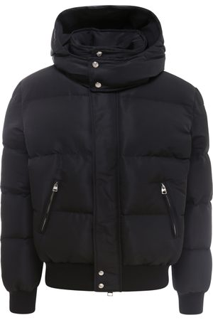 Alexander McQueen Men Puffer Jackets - Nylon padded and quilted jacket