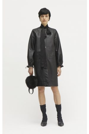 Rodebjer Estelle Recycled Leather Coat