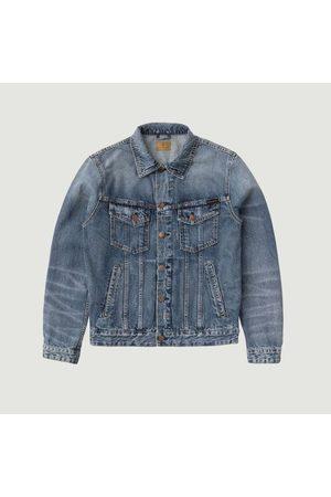 Nudie Jeans Bobby Tribe Denim Jacket Navy Jeans