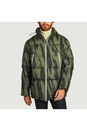 Kenzo Printed Fleece Jacket BRONZE