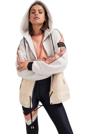 P.E Nation Womens P.E Nation Man Up Fleece Jacket