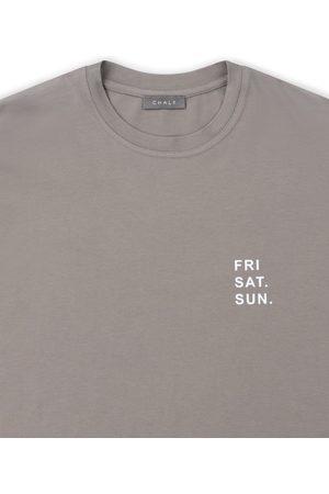 Chalk May T-shirt mouse Fri. Sat. Sun